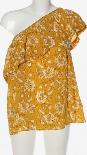Madewell One-Shoulder-Top in XL in pastellgelb / weiß, Produktansicht