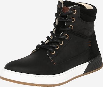 BULLBOXER Sneaker 'AOF503E6L' in braun / schwarz: Frontalansicht