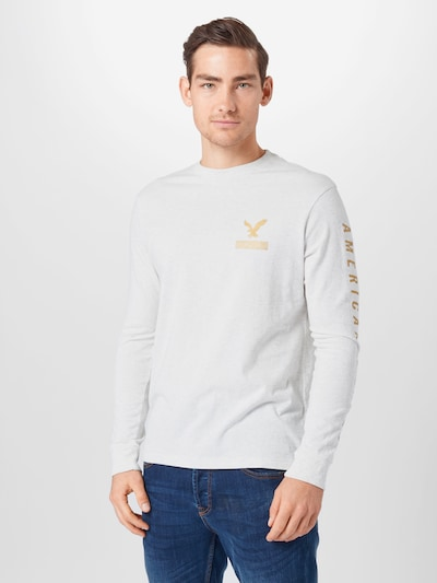 Marškinėliai iš American Eagle , spalva - Auksas / margai pilka, Modelio vaizdas