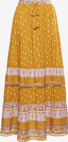 Superdry Skirt 'Amira' in Brown