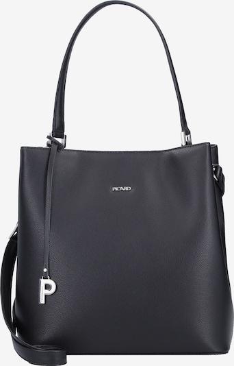 Picard Schultertasche 'Berlin' in schwarz / silber, Produktansicht