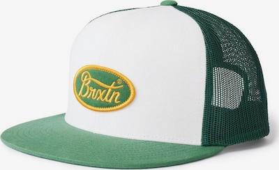 Brixton Gorra 'PARSONS' en amarillo / verde / blanco, Vista del producto