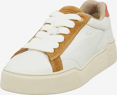 CAMEL ACTIVE Sneaker in hellbraun / rostrot / offwhite, Produktansicht