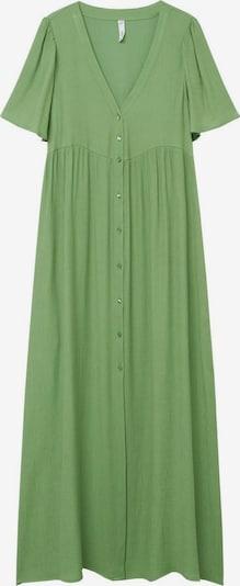 MANGO Robe 'Sugar' en vert, Vue avec produit
