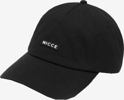 Nicce Casquette en noir, Vue avec produit