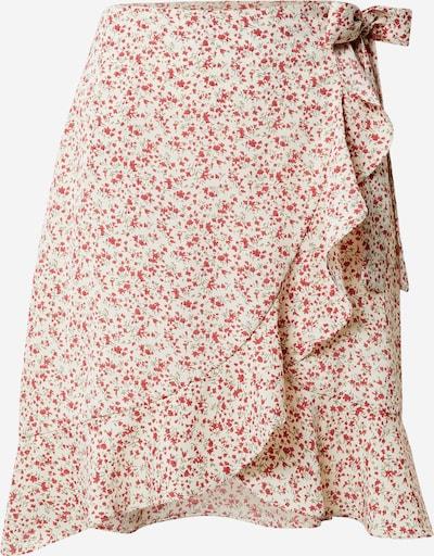 Sijonas iš Missguided (Tall) , spalva - kremo / raudona, Prekių apžvalga