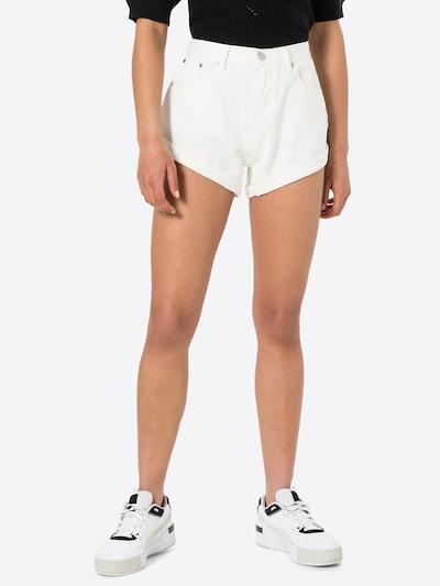 GLAMOROUS Jeans in White denim, View model