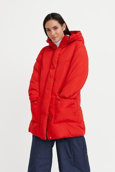 Finn Flare Daunenmantel in rot, Modelansicht