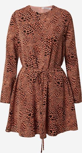 GLAMOROUS Kleid in braun / rot / schwarz, Produktansicht