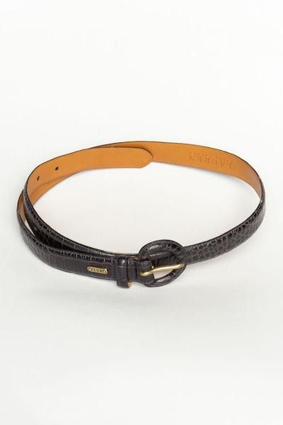RALPH LAUREN Gürtel in L-XL in schwarz, Produktansicht