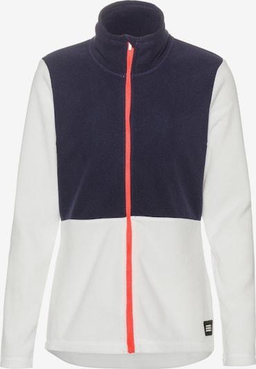 O'NEILL Bluza polarowa funkcyjna 'Clime' w kolorze ciemny niebieski / koralowy / białym, Podgląd produktu