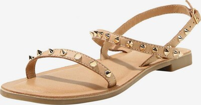 INUOVO Sandale in braun, Produktansicht
