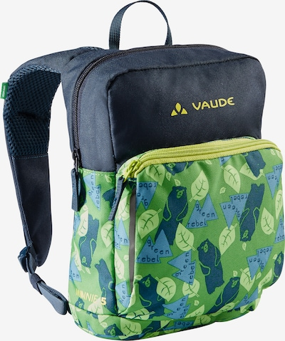 VAUDE Rucksack 'Minnie' in dunkelblau / gelb / grün, Produktansicht