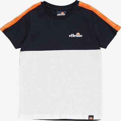 ELLESSE Shirt 'Straccia' in orange / schwarz / weiß, Produktansicht