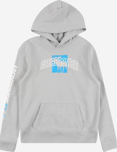 Abercrombie & Fitch Sweatshirt in hellblau / grau / weiß, Produktansicht