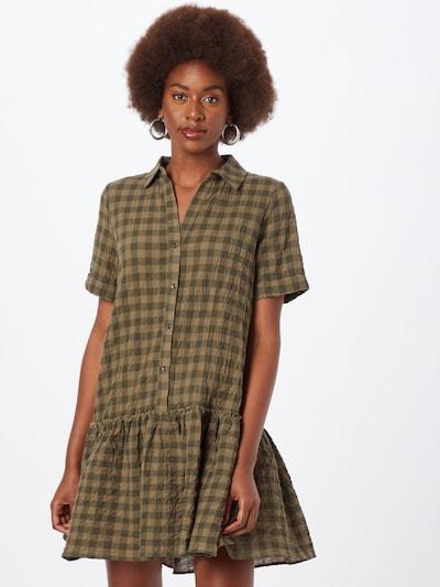 Rochie tip bluză 'HANNIE' Noisy may pe oliv / verde închis, Vizualizare model