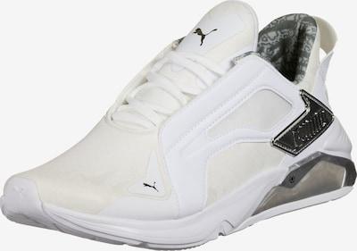 PUMA Chaussure de sport en argent / blanc cassé, Vue avec produit