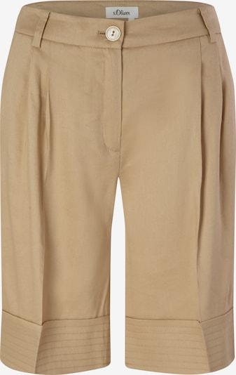s.Oliver BLACK LABEL Pantalon en beige, Vue avec produit