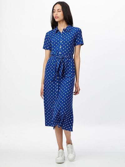 Rochie tip bluză 'Rosie' King Louie pe albastru închis / alb, Vizualizare model