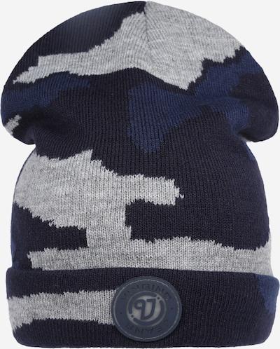VINGINO Bonnet 'Vani' en bleu marine / bleu foncé / gris chiné, Vue avec produit