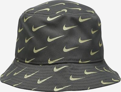 Nike Sportswear Chapeau en jaune clair / gris foncé, Vue avec produit