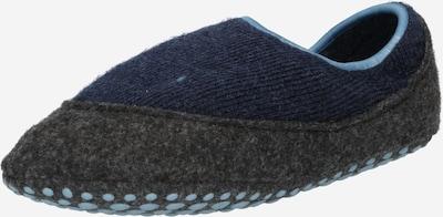 FALKE Pantoufle en bleu clair / bleu foncé / gris foncé, Vue avec produit