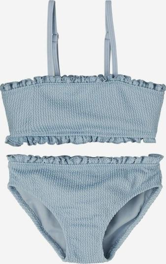 NAME IT Bikini 'Filippa' en bleu fumé: Vue de face