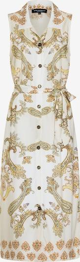 Ana Alcazar Robe-chemise 'Aposys' en jaune / blanc, Vue avec produit