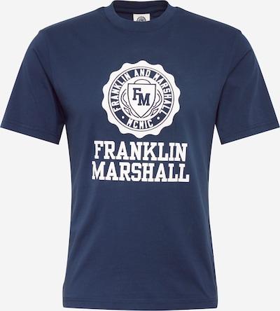 FRANKLIN & MARSHALL Shirt in navy / weiß, Produktansicht