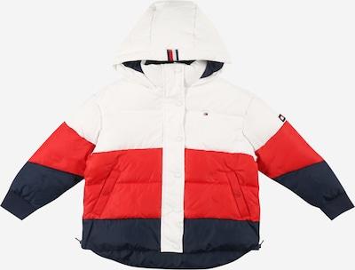 TOMMY HILFIGER Winterjas in de kleur Navy / Rood / Wit, Productweergave