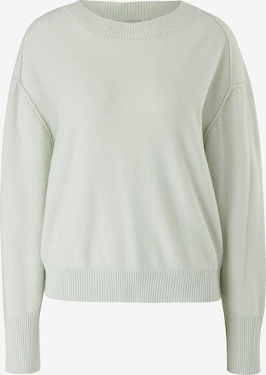 comma casual identity Pullover in pastellgrün, Produktansicht