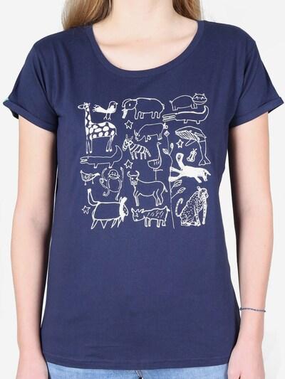 Kipepeo Clothing T-Shirt ' T-Shirt Serengeti Navy ' in blau, Produktansicht