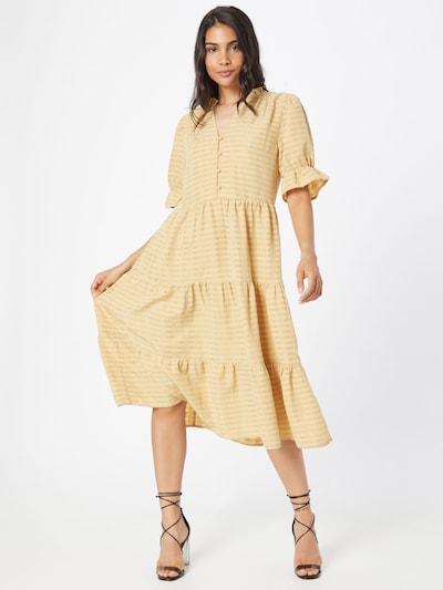 minus Kleid 'Zita' in goldgelb / safran, Modelansicht
