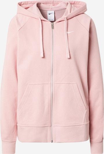 NIKE Sportsweatjacke in rosa, Produktansicht