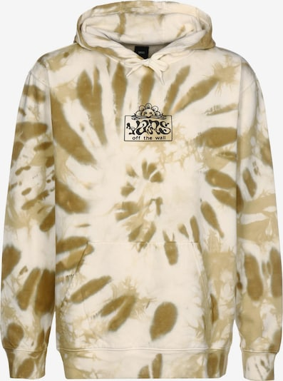 VANS Sportisks džemperis 'Look Ahead', krāsa - cementpelēks / olīvzaļš / melns, Preces skats