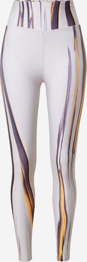 Röhnisch Sportbroek 'KEIRA' in de kleur Donkerlila / Sinaasappel / Wit, Productweergave