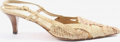 Andrea Puccini High Heel Sandaletten in 40,5 in creme / braun, Produktansicht