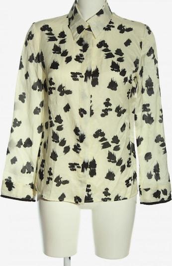 Cacharel Langarm-Bluse in S in schwarz / wollweiß, Produktansicht