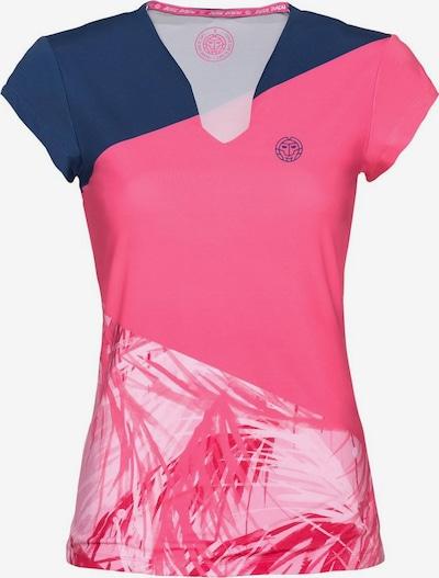 BIDI BADU T-Shirt 'Bella 2.0' in blau / pink / weiß, Produktansicht