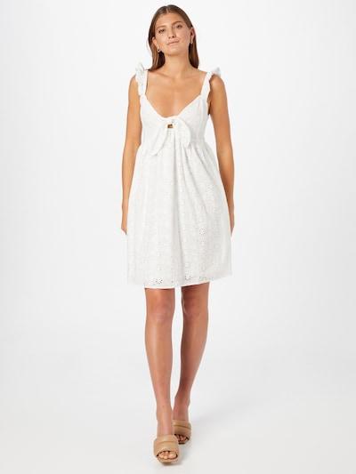 Rochie de vară 'PANIA' VILA pe alb, Vizualizare model