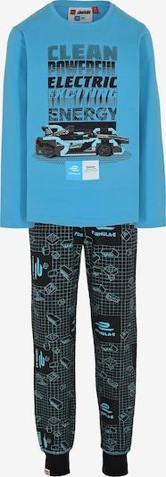 LEGO Schlafanzug 'Formula E' in türkis / nachtblau, Produktansicht