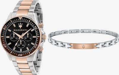 Maserati Analoog horloge in de kleur Rose-goud / Zilver, Productweergave