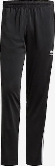 ADIDAS ORIGINALS Hose 'Firebird' in schwarz / weiß, Produktansicht
