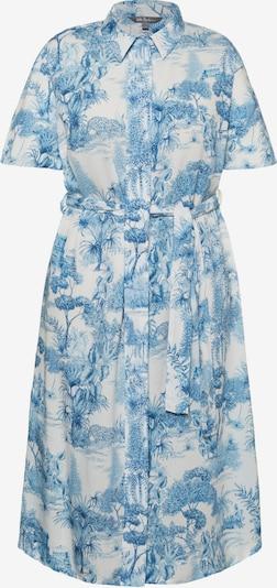 Ulla Popken Kleid in hellblau / weiß, Produktansicht