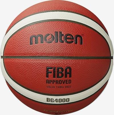 molten Basketball in orange / schwarz / weiß, Produktansicht