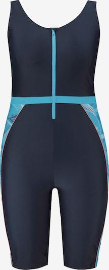 Ulla Popken Swimsuit in marine blue / Sky blue, Item view