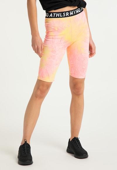 myMo ATHLSR Sportbroek in de kleur Gemengde kleuren: Vooraanzicht