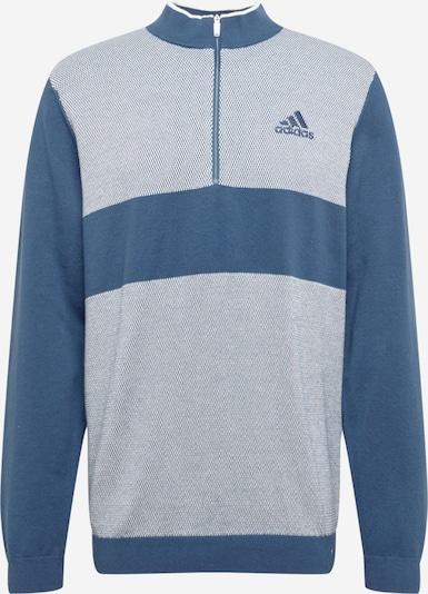 adidas Golf Sportpullover in blau / weiß: Frontalansicht