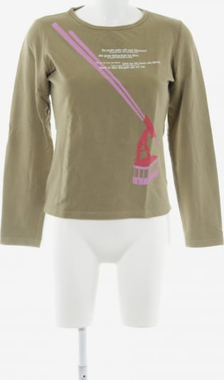 Frauenschuh Longpullover in XS in camel: Frontalansicht