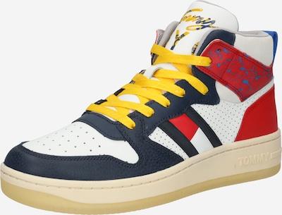 Tommy Jeans Členkové tenisky - námornícka modrá / žltá / červená / biela, Produkt